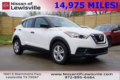 Certified Pre-Owned 2019 Nissan Kicks S FWD 4D Sport Utility