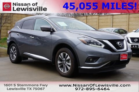 Certified Pre-Owned 2018 Nissan Murano SL AWD 4D Sport Utility