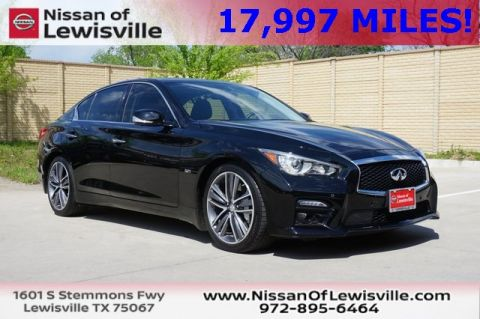 Pre-Owned 2017 INFINITI Q50 Sport RWD 4D Sedan