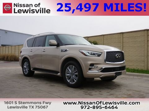 Pre-Owned 2019 INFINITI QX80 LUXE RWD 4D Sport Utility